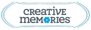 Creative Memories Logo blue border