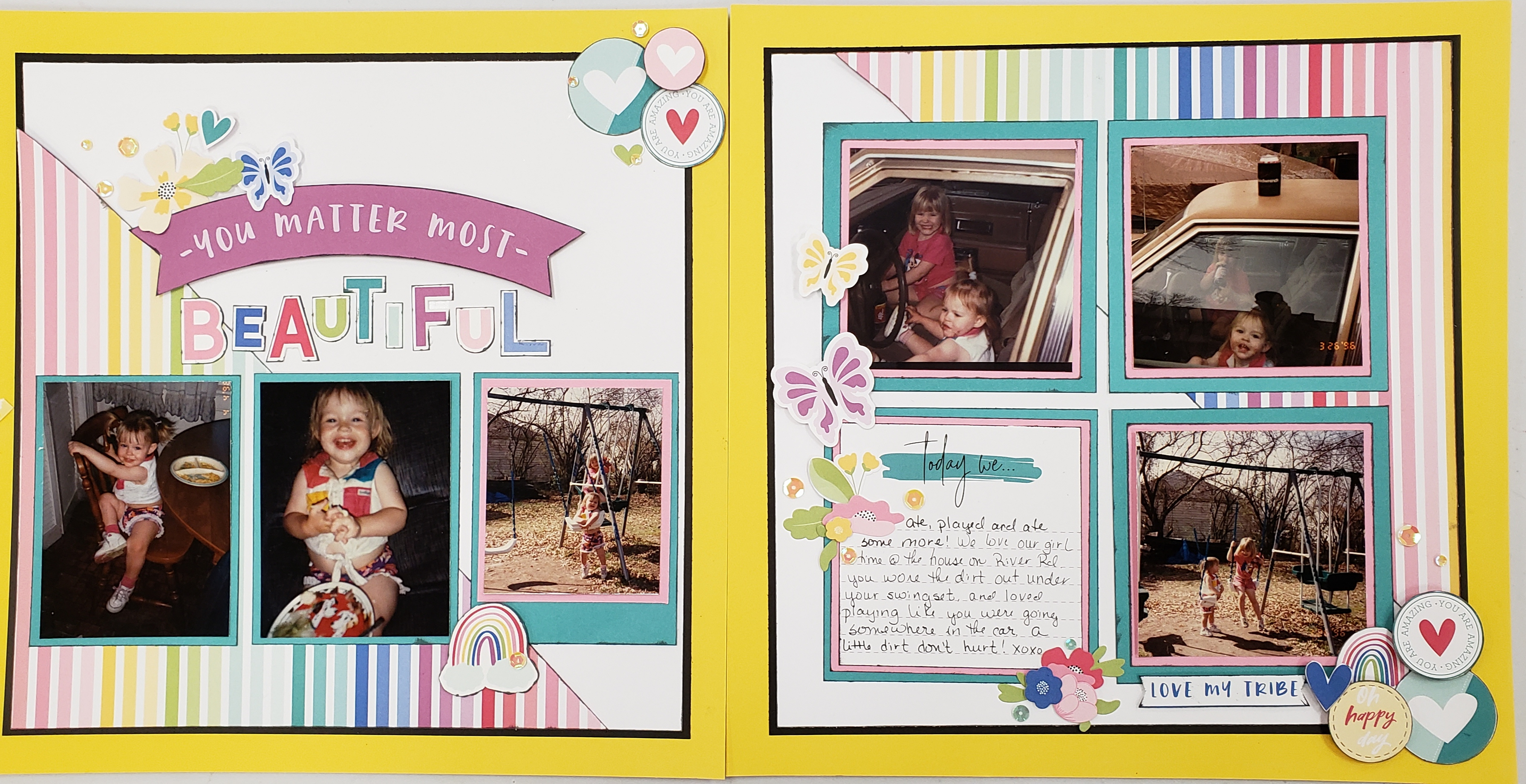I Heart Us workshop Layout pages 1 and 2