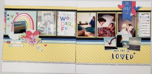 I Heart Us workshop Layout pages 3 and 4
